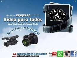 Video, filmagem e reportagem