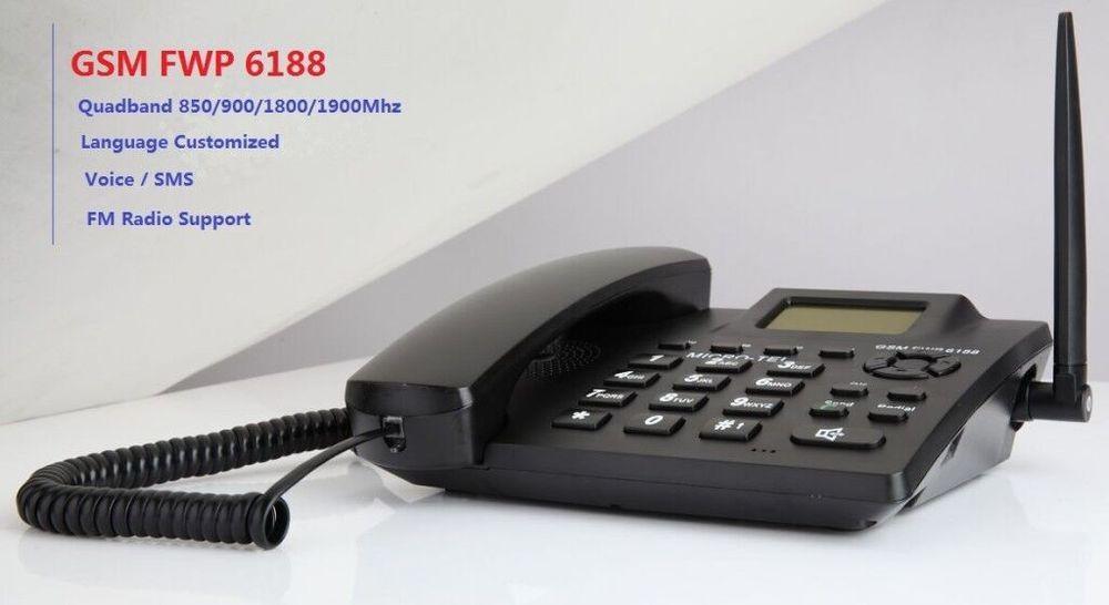 Telefone fixo GSM (Utiliza cartão UNITEL ou MOVICEL)