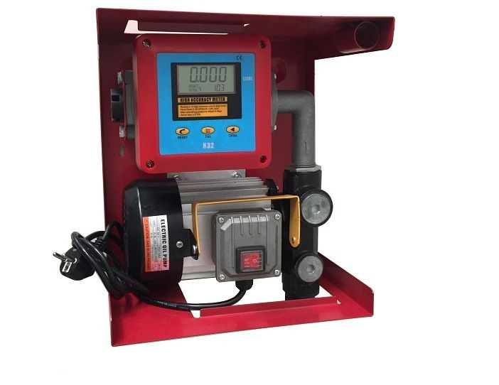 Pompa transfer motorina 60l/min cu contor digital+filtru motorina Timisoara - imagine 1