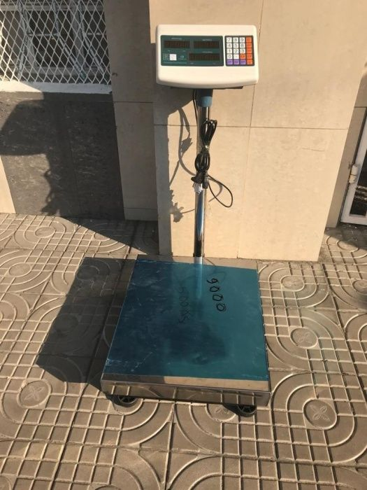 Balança electrónica com capacidade para 500kg
