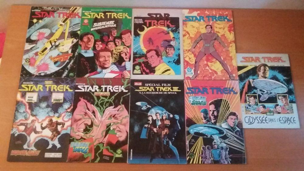 Lot 9 benzi desenate Star Trek prima generatie in franceza.