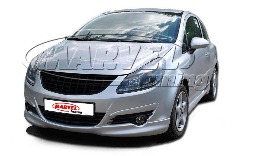 Тунинг комплект спойлер за Опел корса Д ( Opel Corsa D )