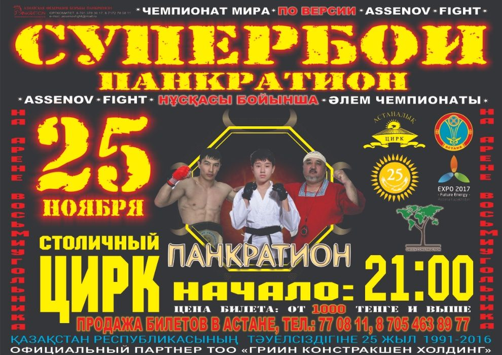Школа смешанных единоборств Assenov Fight(карате, бокс, борьба)