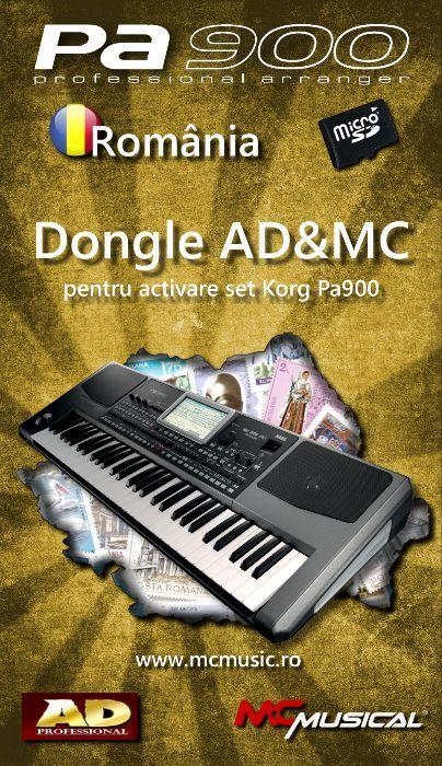 SET Korg Pa900 (AD&MC)