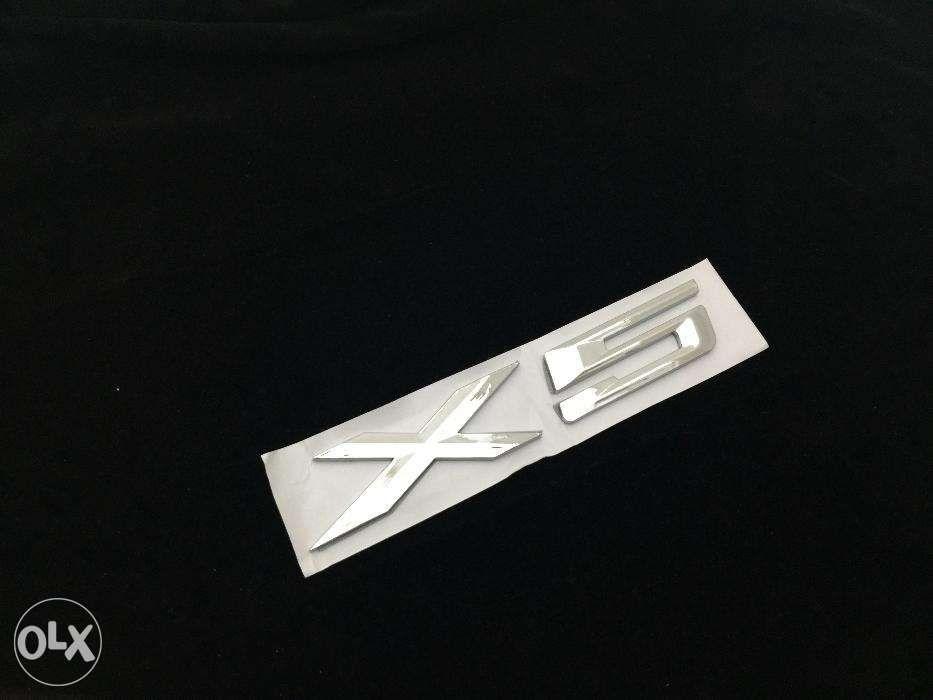 Emblema BMW X5 ABS spate