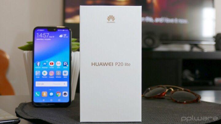 Huawei P20 Lite novo na caixa selado com todos acessórios