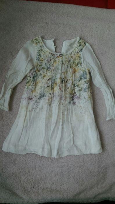 ZARA bluza panza topita dublata 4-5 ani