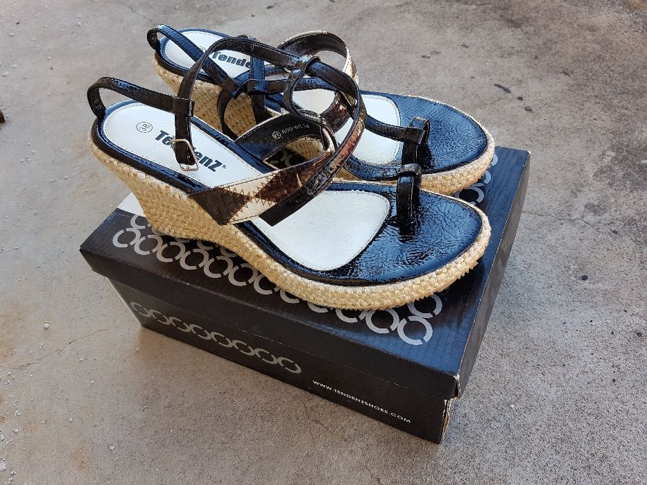Tendenz - дамски летки обувки сандали чехли холандска подметка