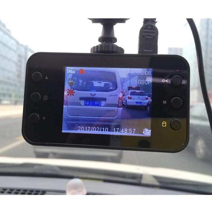 "Camera accident auto 2.7"" full HD Car DVR Camera Video G-sensor Dash"