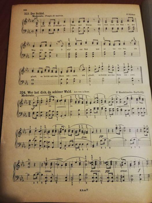 Учебник по пиано от 1900