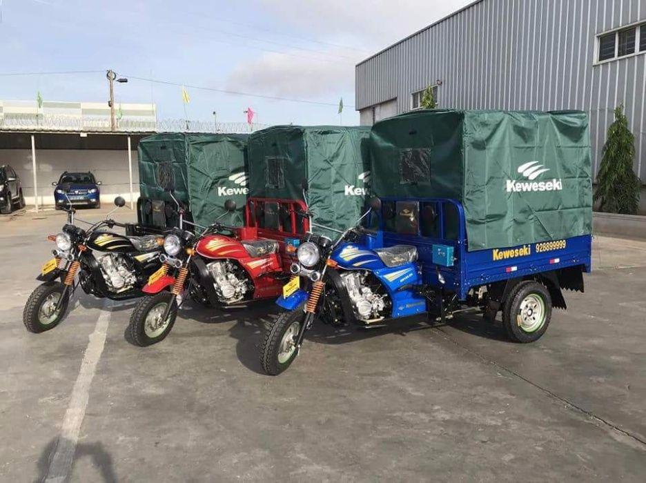 Vendo Mota e Moto de Tres Rodas cupapata e Kawasaki
