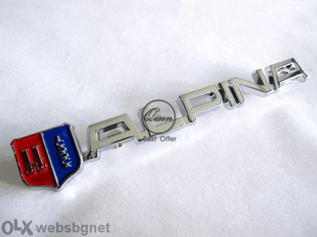 Код 31. BMW Alpina емблема за капак / Емблема Бмв Алпина