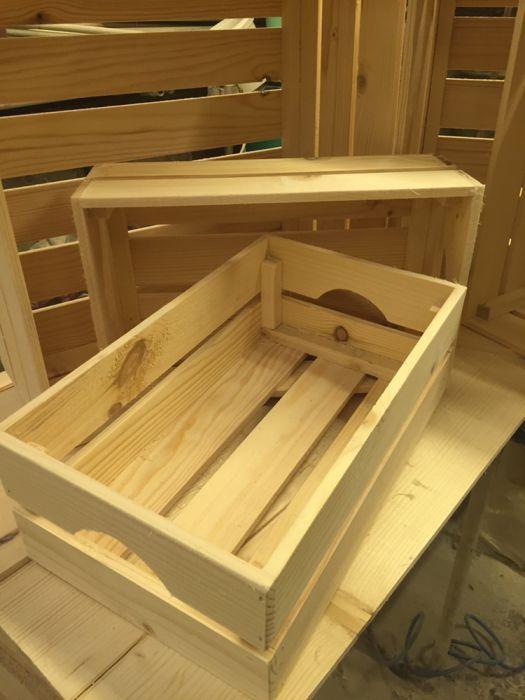 Дървена касетка, щайга