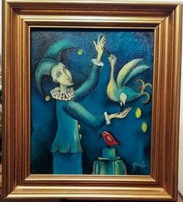 """Tablou / pictura - """" Poveste """""""