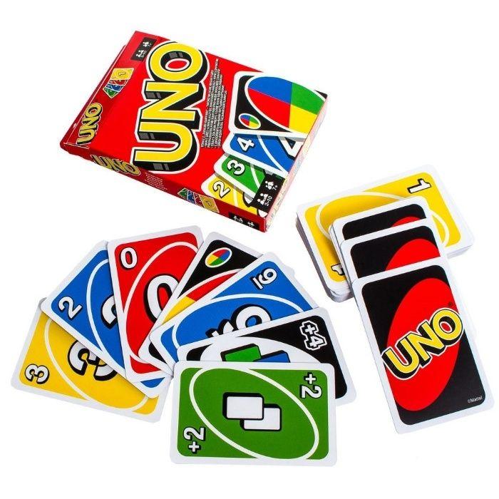 Настольная игра UNO (толстый картон) Карточная игра УНО карты