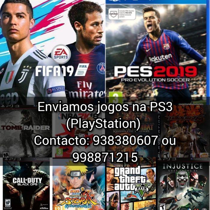 Enviamos jogos qualquer tipo de PS3