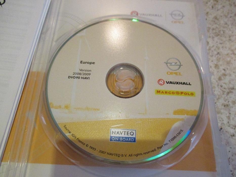 DVD 90 NAVI Harta Navigatie 2016 OPEL Astra H, Corsa, Vectra, Zafira