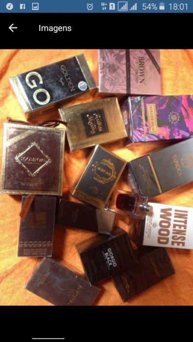 Perfumes Originais Árabes e Franceses