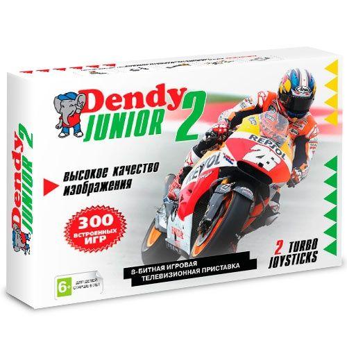 Новинка! Dendy JUNIOR + 300 встроенных игр \ магазин GAMEtop