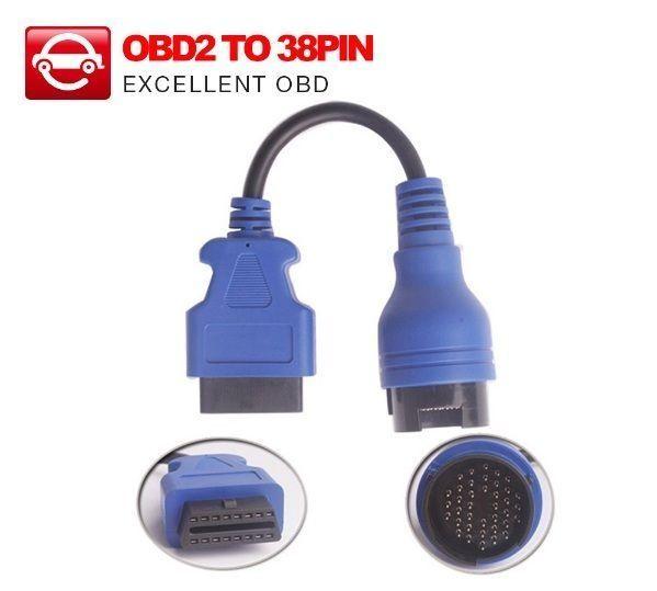 Cablu adaptor diagnoza IVECO Turbo Daily 38 pini la 16 pini OBD2