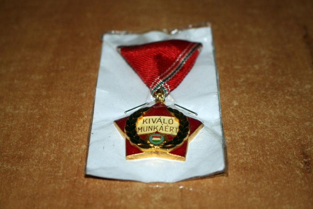 Medalie pentru merite in munca, Ungaria. ( Kiváló Munkáért )