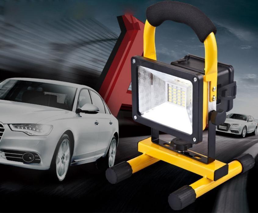Proiector Reflector Portabil 10W Reincarcabil cu 24 Leduri SMD