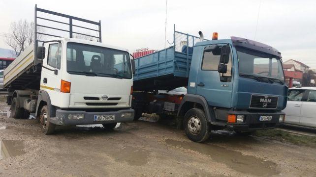 Efectuam transport cu auto de 3,5 si 7.5 tone(nisip,sort,pământ,etc).