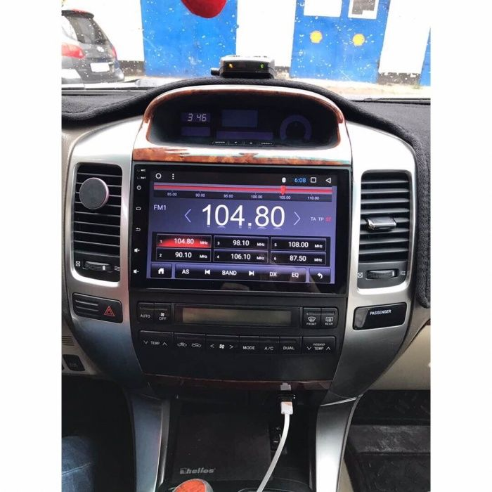 Головное устройство Toyota Land Cruiser Prado 120 Redpower/Kleverbrain