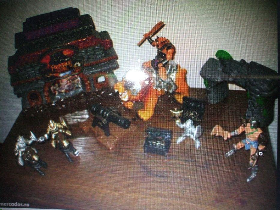 jucarie luptatori-razboinici salbatici