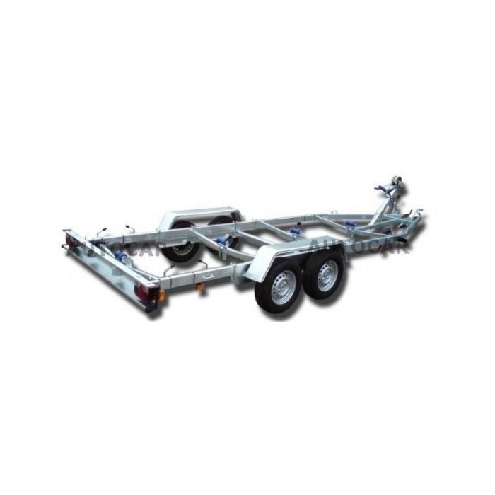 Remorca barca Peridoc 6800x2500 tandem 2T