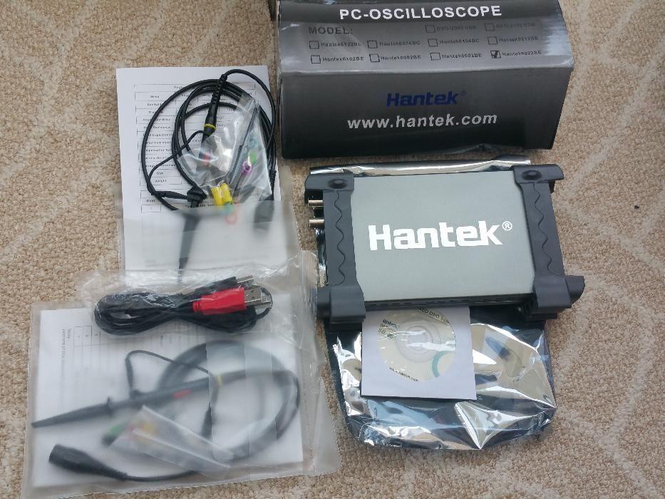 Osciloscop Hantek 6022BE 2 canale 20MHz 48MSa/s 1MByte/CH
