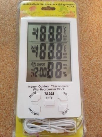Termometru digital pentru interior si exterior TA 298