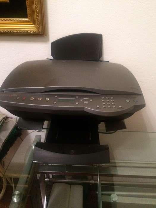 Impressora, fotocopiadora, scanner e fax