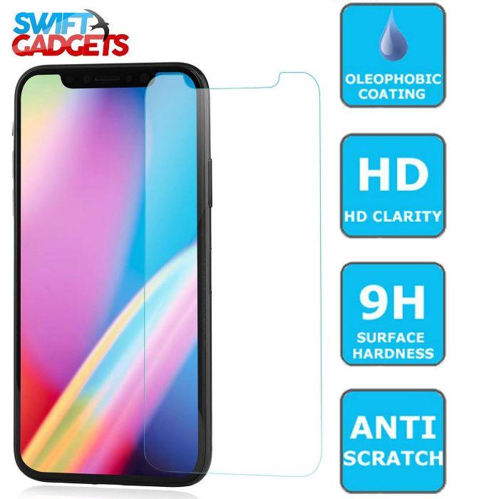iPhone X стъклен протектор, Силиконов калъф за iPhone 7, iPhone 7 Plus