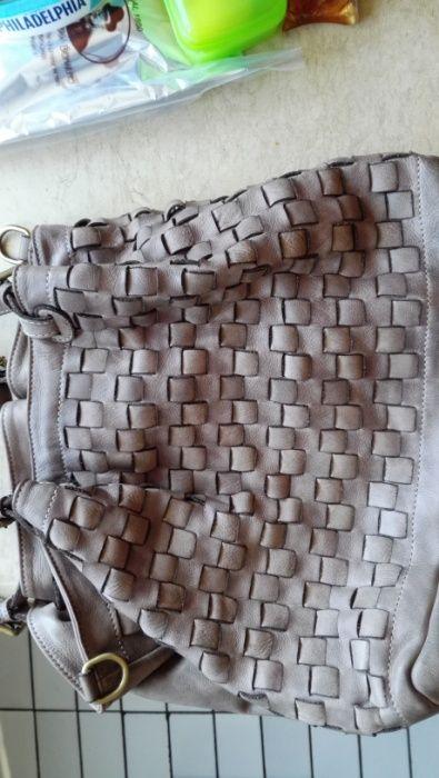 Промоция!! Продавам дамска кожена чанта