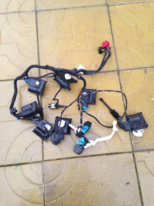 Motorașe clima,instalație electrica audi a6 4f