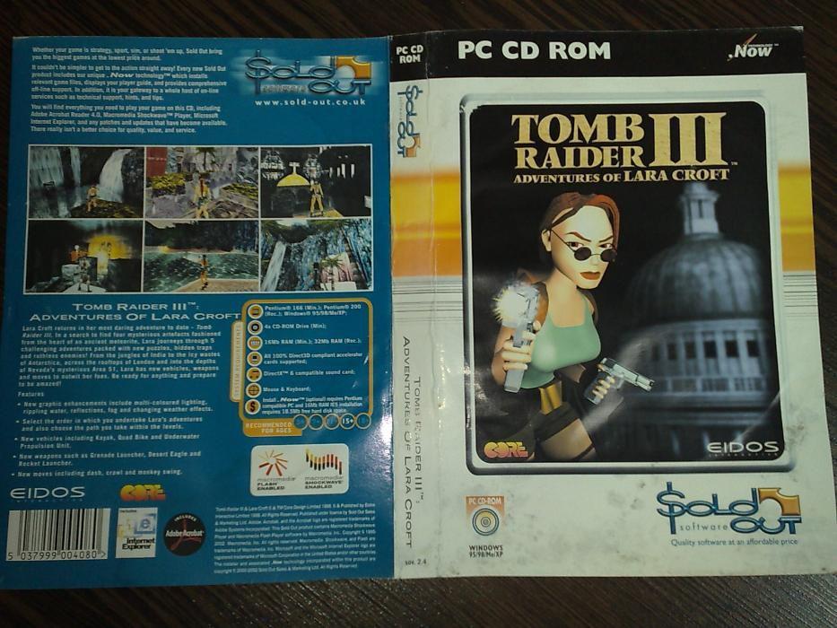 Joc original Tomb Raider 3