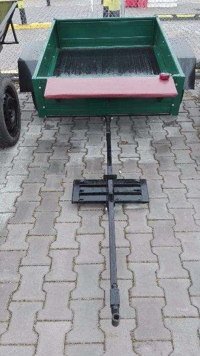Remorcă pentru motocultor 4 - 8 CP - 140 cm x 110 xm, 410 kg NOUĂ