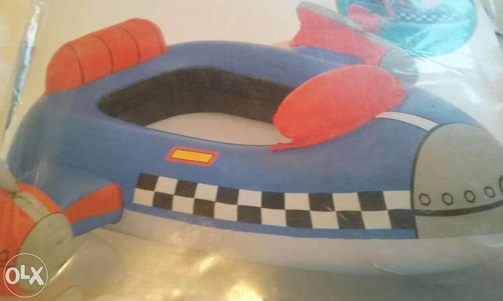 Barca/ saltea gonflabila stabilizatoare copii,nava pirati,100x97cm,Nou