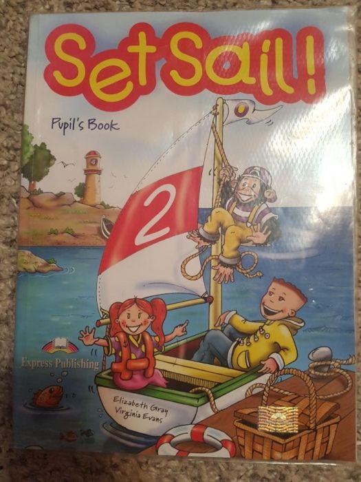 carte engleza pt copii, set sail, pupil s book, ed express publishing