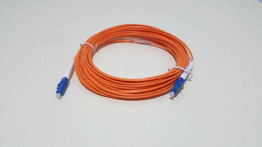 Cablu fibra optica LC to LC 5m Multimode