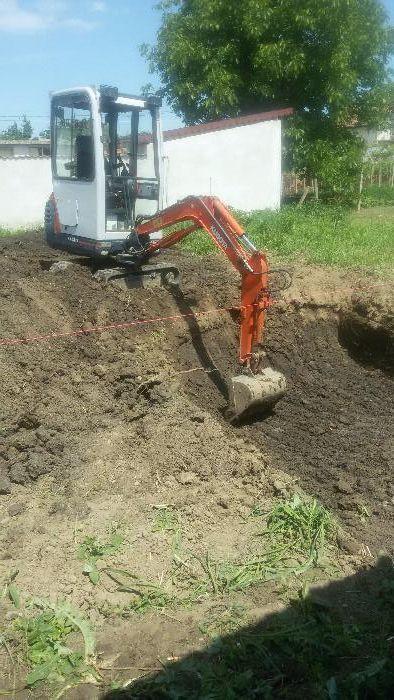 Изкопи с мини багер и транспортни услуги със самосвал до 3,5т гр. Велико Търново - image 9