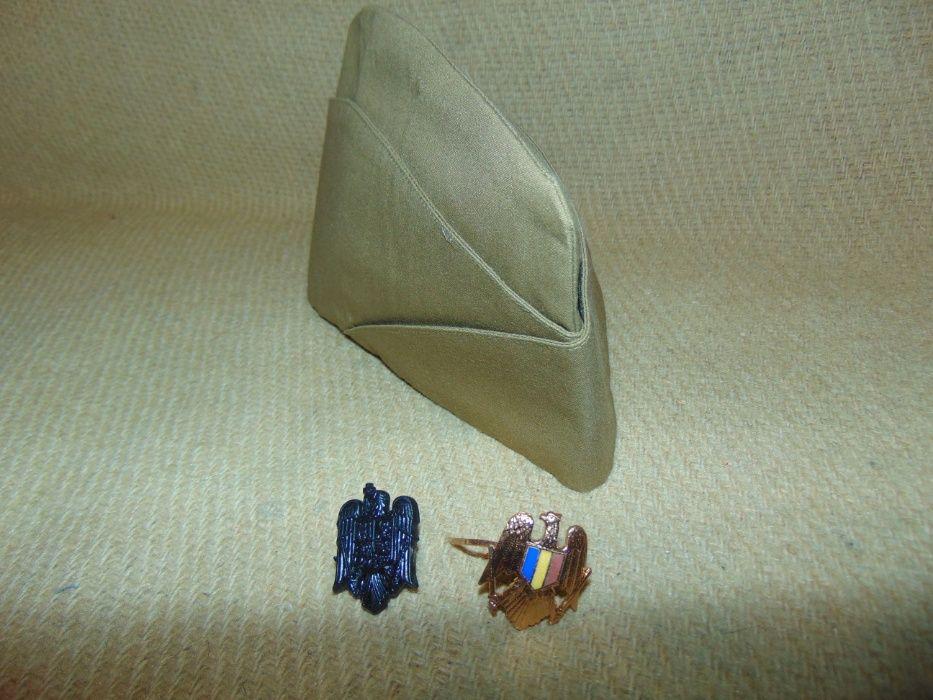 Boneta chipiu tip Nato ofiter român cu insigna (coifura)