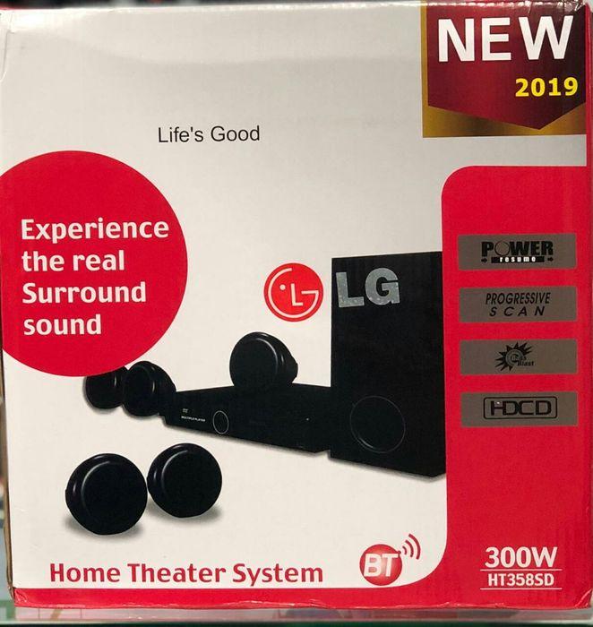 Sound bar da marca LG
