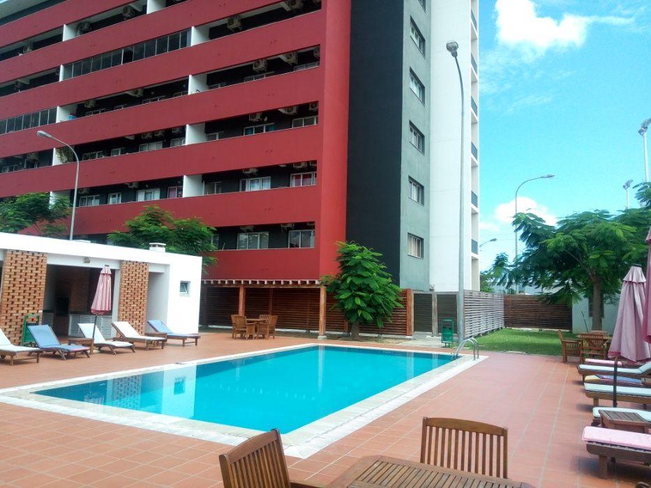 Arrendo apartamento T2 no Talatona, semi mobiliado Condomínio Diamante