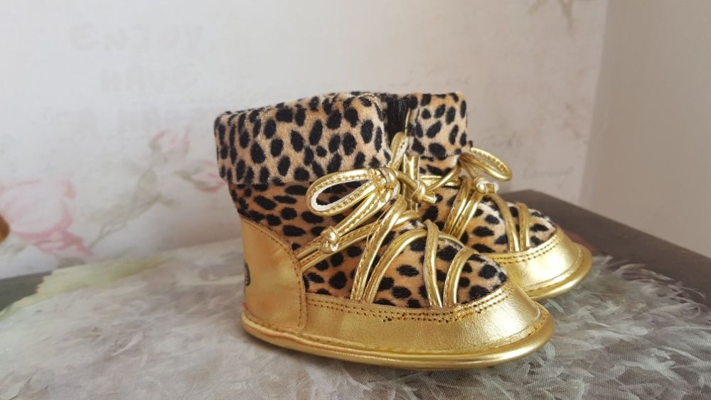 Juice Couture Leopard and Gold