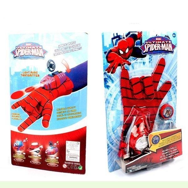 Ръкавица с изстрелвачка на Спайдърмен