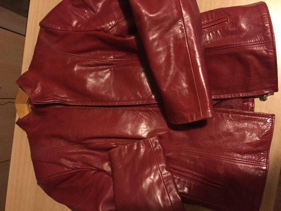 Дам.вталено яке,естествена кожа:70лв.