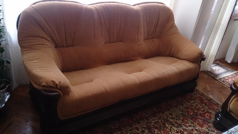 """класически мебели от дъб-оригинална холна гарнитура """"Атина"""""""