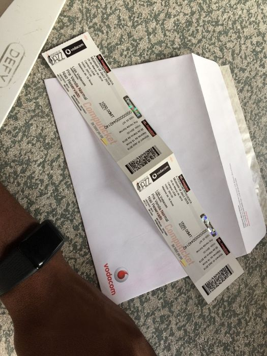 BILHETE Moment of jazz 2019 Vodacom